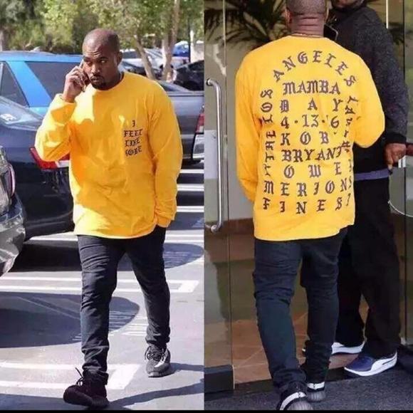 590cee7989ef98 Kanye West I feel Like Kobe Yeezy Unisex Shirt